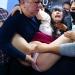通勤バスの中で大勢の男にもみくちゃにされ、強引にキスされ、嫌がるも脱がされる。バス痴○の見本のような作品。複数の男に犯されてガンガン責められます。