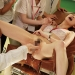 看護学校でのセクハラ実習で男子生徒が興味深々!!ナース服・パンスト・パンティを全て脱がして実技講習。バイブでオナニーして挿入しちゃいます。