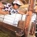牧場でアルバイト中の桃尻飼育員にお客がオッパイやお尻を触りセクハラ。挙げ句の果てにオッパイを舐めたりバックで突いたりオナニーしてフェラしてやりたい放題。